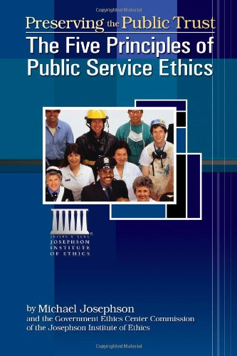 ethics and accountability in public service Ethics and accountability have become important themes for modern  the  growing interaction between the public and the private sector have raised the.
