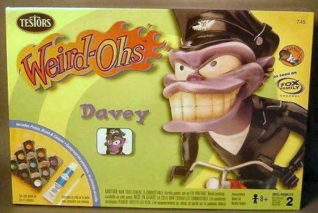 Weird-Ohs Davey Model Kit - 1
