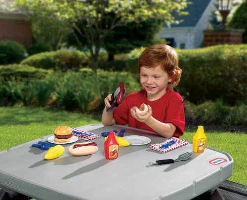 Little Tikes Backyard Barbeque Grillin' Goodies Toy, Kids, Play, Children front-788942