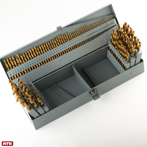 DWD60J-SET Qualtech #1-#60 60 Piece HSS Jobber Length Drill Bit Set