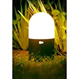 Auraglow große kabellose batteriebetriebene LED-Sicherheitslampe mit Bewegungsmelder für Garten oder