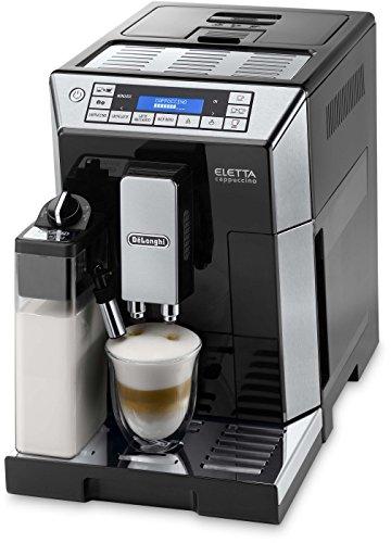 De'Longhi ECAM 45.766.B Kaffeevollautomat Eletta Cappuccino mit Latte Crema Milchaufschäumsystem thumbnail