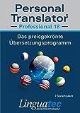 echange, troc  - Personal Translator Professional 18 - Programme de traduction primé pour Windows pour satisfaire des exigences professionnelle