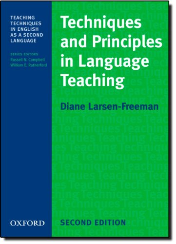 Techniques and Principles in Language Teaching (Teaching...
