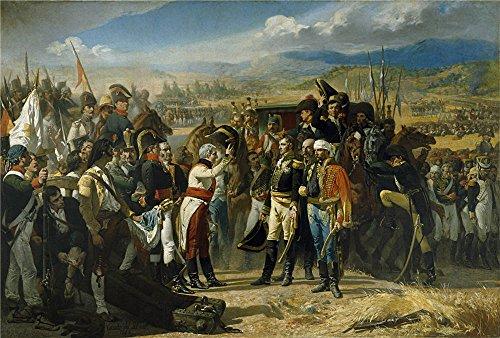 oil-painting-casado-del-alisal-jose-the-surrender-of-bailen-1864-24-x-36-inch-61-x-90-cm-on-high-def