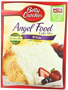 Betty Crocker Angel Food Cake Mix White 16-ounce Boxes Pack Of 12 from Betty Crocker