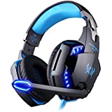 KOTION EACH G2200 PC Gaming Headset USB 7. 1 Surround Sound Vibration Game Gaming Headphone Computer Headset Earphone...