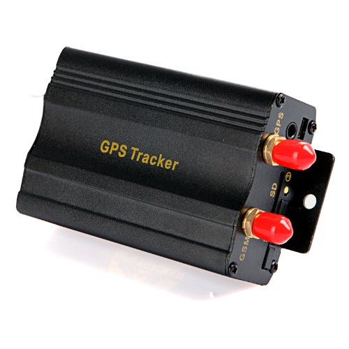 DoDoCool 2SIM/GPRS/GPS/GSM Vehicle Car Tracker Real-time Tracking Alarm System Google Map 103A+