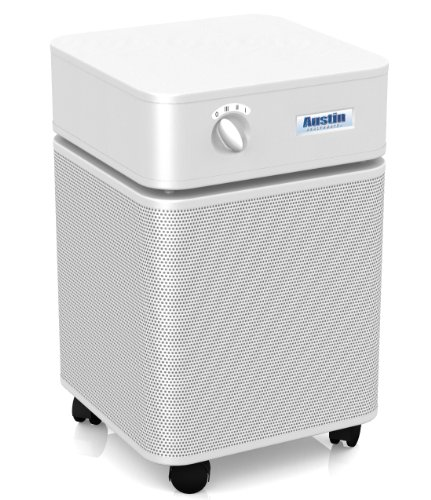 Austin Air Healthmate Plus Air Purifier, White