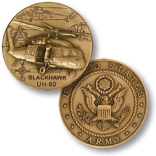 UH-60 Blackhawk Helicopter Challenge Coin