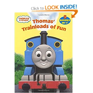 Thomas Trainloads of Fun coloring book