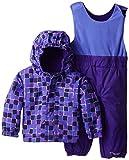 Columbia Baby-Girls Infant Fresh Pow Set, Purple Lotus Print, 12-18 Months