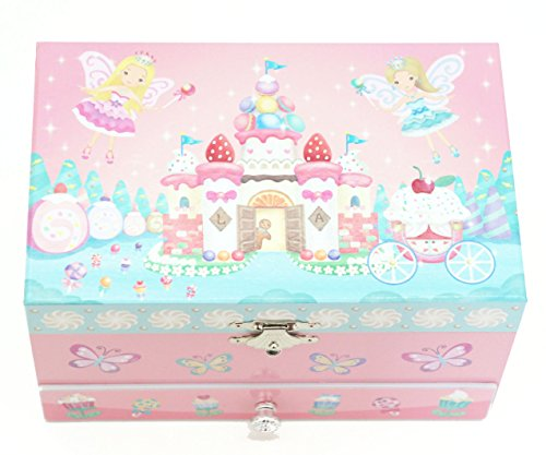 "Lily & Ally / Sweets Fairy Musical Jewelry Box, With Melody Of ""When You Wish Upon A Star"""