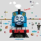 Thomas The Tank Engine Glow for Me Wall Sticker, Blue