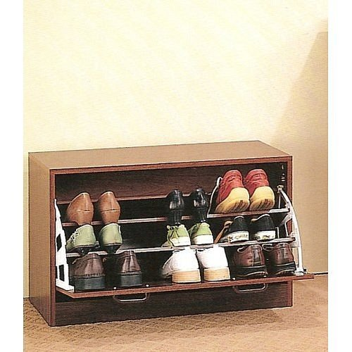cherry-finish-wood-shoe-storage-rack-organizer