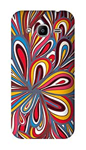SWAG my CASE PRINTED BACK COVER FOR SAMSUNG GALAXY J2 2016 EDITION Multicolor