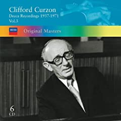 Clifford Curzon Decca Recordings 1936-1971 Vol.3