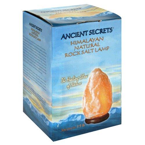 Ancient Secrets Rock Salt Lamp, Himalayan Natural, Medium 3-5 Lb, 1 Lamp