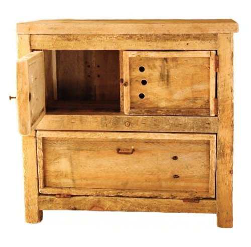 Countertop Vegetable Bin : ... Willow Road Peasecod : A Rustic Countertop Potato Bin - Shopping