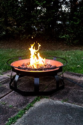 Camco 51200 Large Propane Patio Fire Pit Best Prices