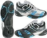 Babolat Team 3 Reverse Junior Tennis Shoes Black/Blue/Silver Size: 4.5
