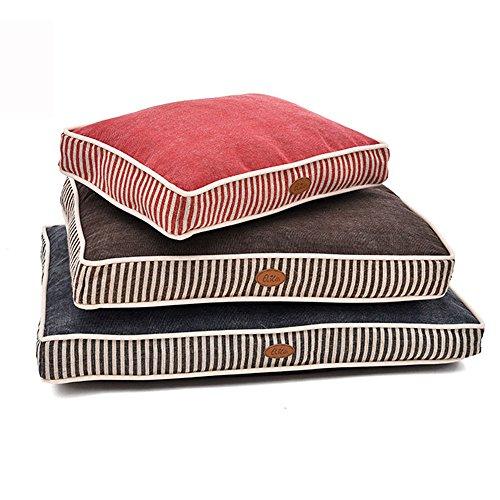 elite-haarverdichtung-gingham-leinwand-hundebett-geeignet-fur-kleine-hunde-winter-bestseller-rot-bla
