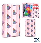 [Tyvek] LG Vu Plus Phone Case - CHERRY CUPCAKES PINK | Women's Wallet Shoulder Bag Phone Bag. Bonus Ekatomi Screen Cleaner