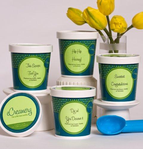 eCreamery Congratulations Gift - Sorbetto 4 pack