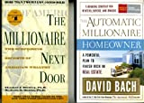 img - for Set of 2 the Millionaire Next Door & the Automatic Millionaire Homeowner book / textbook / text book