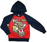 Super Mario Boys Pullover Hoodie (S (6/7))