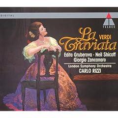 """La traviata : Act 1 """"Che � cio?"""" [Violetta, Flora, Alfredo, Gastone, Douphol, Marchese, Dottore, Chorus]"""