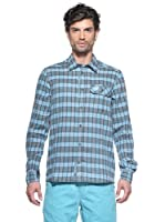 Salewa Camisa Pelusios Co M (Azul)