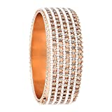 BELLA Hand Crafted Australian Diamond Bangle Kada
