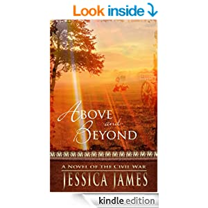 Above and Beyond: A Novel of the Civil War (Hearts Through History Book 2)