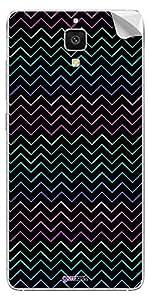 GsmKart XRM4 Mobile Skin for Xiaomi Mi4 (Black, Mi4-447)