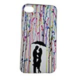 VALENTINE LOVE Matte Print Stylish Hard Slim Bumper Back Case Cover For Apple IPhone 4 4S 4G