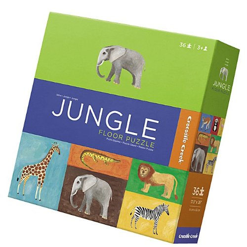 Cheap Fun Crocodile Creek Boxed Floor Puzzle – Jungle (36 pc) — (B005H7C536)
