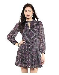 Yepme Printed Peasant Dress - Multicolor -- YPMDRES0264_L