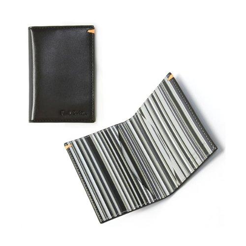 (ポールスミス) Paul Smith メンズ カードケース 名刺入れ BK マルチ(モノトーン系) [並行輸入品]