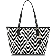 Medium Asher Tote<br>White Valle