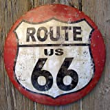 US Route 66 Vintage Road Street Sign