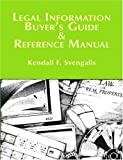 Legal Information Buyers Guide and Reference Manual