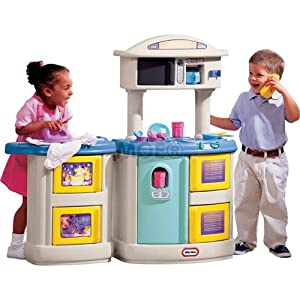 Little Tikes Double Up Kitchen And Laundry Centre