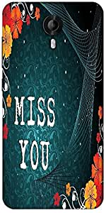 Snoogg Abstract Floral Vector With Place For The Text Design Designer Protective Back Case Cover For Micromax Canvas Nitro 3 E455
