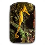 Longsnout Yellow Seahorse Underwater in Sea Soft Fur Lined Mobile Phone Sock Case With Pocket For Samsung Galaxy S3 i9300, Nokia Lumia 820 & 920, Sony Xperia T, Blackberry Q10, Z10