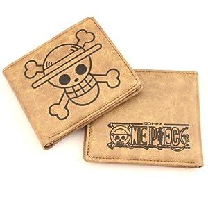 One Piece - Strohhut Symbol Leder Geld-Börse Portemonnaie Geldbeutel