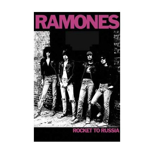 Poster 'Ramones (Rocket to Russia) Music Poster Print', Dimensione: 61 x 91 cm
