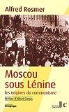 echange, troc Alfred Rosmer - Moscou sous lenine preface d'albert camus