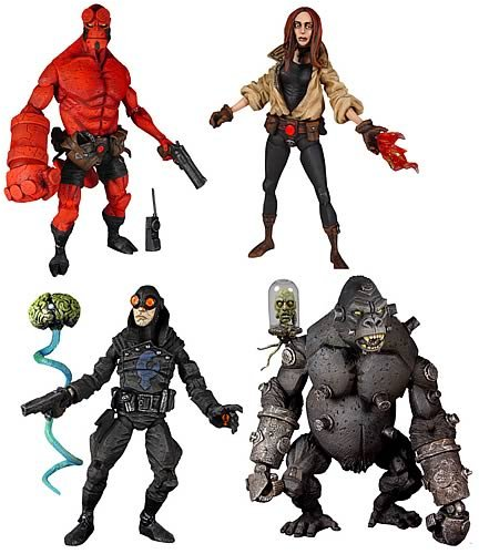 Buy Low Price Mezco Hellboy Comic Series Action Figures Case of 12 (2 Sets) (B000C9X59C)