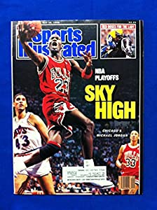 1988 Sports Illustrated May 16 Michael Jordan Chicago Bulls Near-Mint